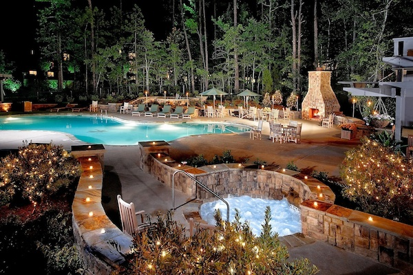 Southern weddings the lodge at callaway gardens pool for Lodge and spa callaway gardens
