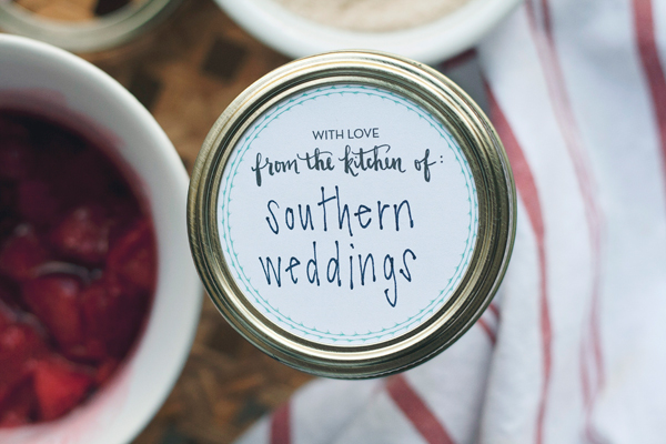 DIY with Yours is the Earth :: Mason Jar Labels