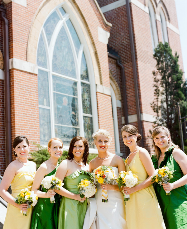 Yellow And Green Bridesmaid Dresses 85