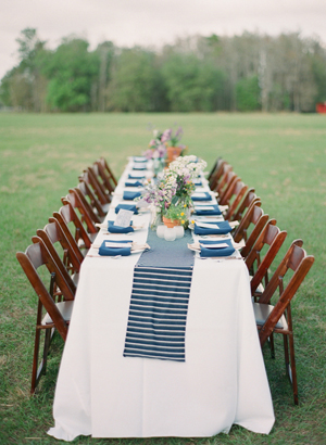 Captivating NEW 704 STRIPED TABLE RUNNER WEDDING