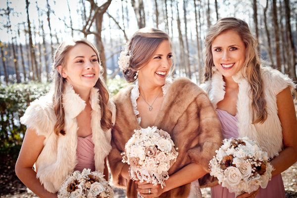 Bridesmaid Dresses For A Christmas Wedding