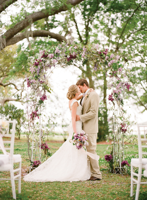 wedding arch - My Wedding Photos