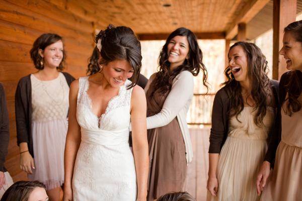 Brown Fall Bridesmaid Dresses Facebook it