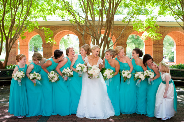 Facebook it for Turquoise wedding dresses for bridesmaids