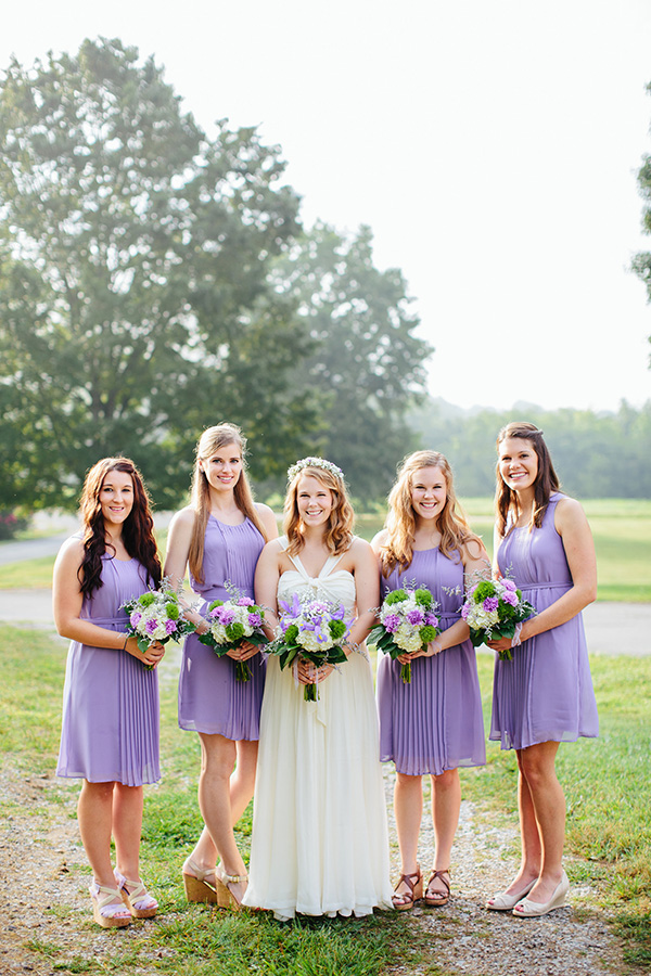 Southern wedding purple bridesmaid dresses for Purple summer dresses for weddings