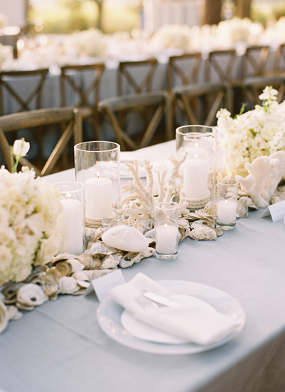 Facebook it for Wedding dinner table decoration ideas