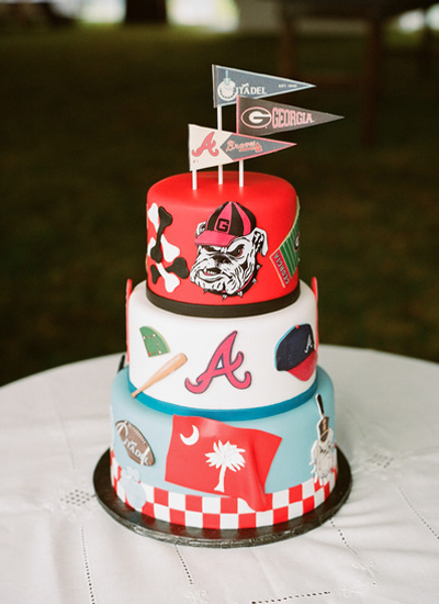 University Of Alabama Grooms Cake