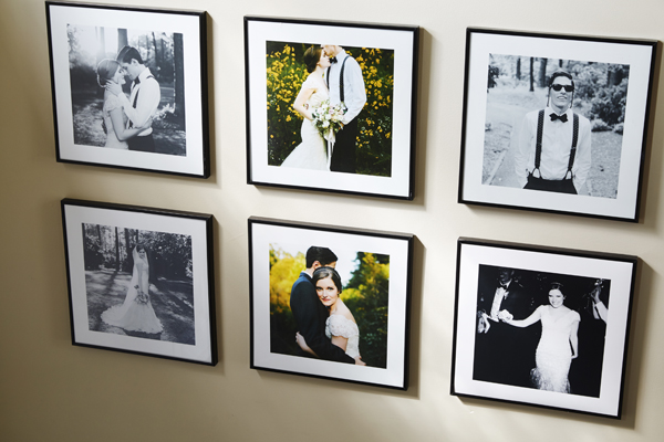 Wedding Photo Wall Frames Wedding-photos-gallery-wall