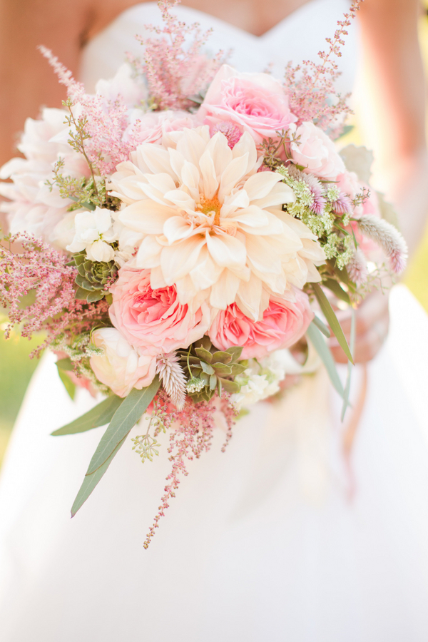 Brittany S Dahlia Astilbe Succulent And Rose Bouquet By Holly Heider Chapple Photo By