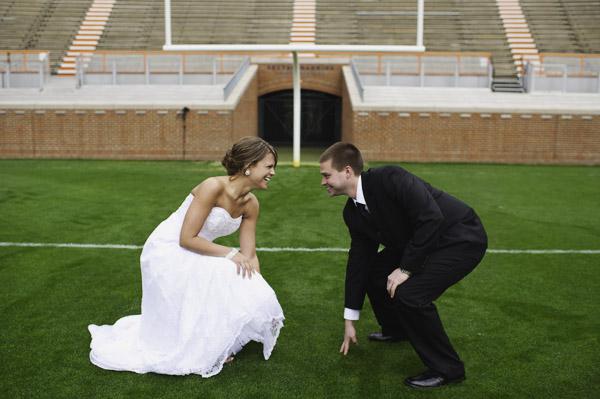 Soccer Themed Wedding Ideas: Facebook It