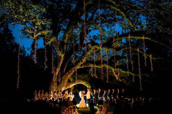 A Dramatic Evening Ceremony In Mississippi