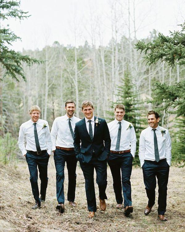 Groomsman Brown Dress Shoes For Wedding