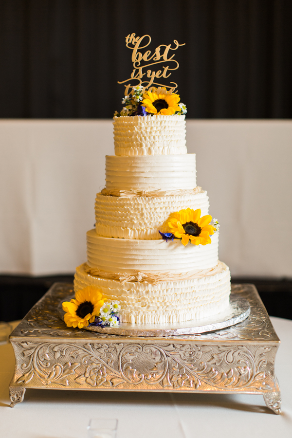 wedding cakes with sunflowers pin it 26123